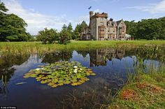 As the only hotel on the island, staying at the picturesque Isle of Eriska hotel will feel like you're living on a private island