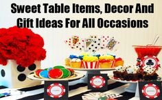 Sweet Table Items, Decor And Gift Ideas For All Occasions