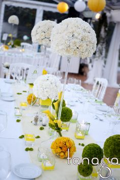 Centre de #table #mariage by Tanaga ambiance designer