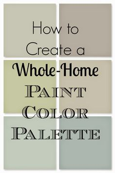 Choosing Interior Paint Colors For Home