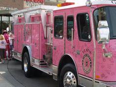 Pink Fire Truck~