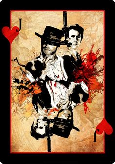 "Jack of Hearts ""Clint Eastwood"" by Melanie Armstrong"