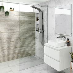 Premium EasyClean Wetroom Panel 2019 If youre looking for small shower enclosures have you considered a modern wetroom panel? Beautiful & frameless add style & luxury to your shower room. Soak The post Premium EasyClean W Small Shower Baths, Small Showers, Clean Shower Screen, Small Wet Room, Wet Room Screens, Wet Room Shower, Dream Shower, Bath Room, Bathroom Showers