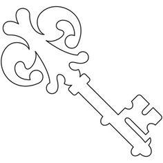 Quilting Key design (UTH6263) from UrbanThreads.com