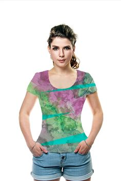 By Betsy Bush. All Over Printed Art Fashion T-Shirt by OArtTee