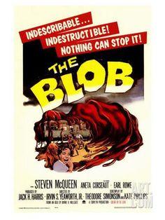The Blob, 1958 Art Print at Art.co.uk