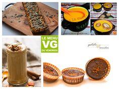 [On déguste] Menu vg courgement réconfortant - Vg-tables Baking Ingredients, Cookie Dough, Cookies, Tables, Food, Simple, Vegetarian Cooking, Greedy People, Mesas