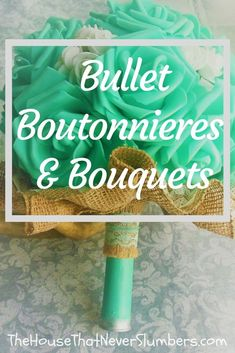 Bullet Boutonnieres and Bouquets - Yes. You read that correctly Bullet Boutonnieres and Bouquets! My daughter and her husband (who were married while still in high school, by the way) chose to incorporate ammunition into their wedding flowers. Diy Wedding Bouquet, Corsage Wedding, Bridesmaid Bouquet, Wedding Flowers, Diy Flowers, Bullet Boutonniere, Boutonnieres, Free Wedding, Budget Wedding