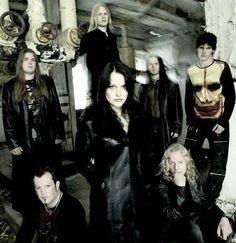 When Vibeke was still in Tristania (Norwegian band)