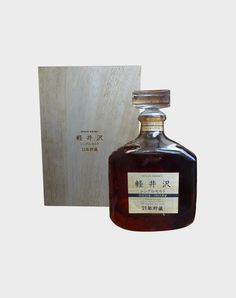 This bottle is truly a museum piece among Japanese whiskies. Karuizawa, Japanese Whisky, Bottle Packaging, Scotch Whisky, Distillery, Bourbon, Wines, Whiskey, Barrel