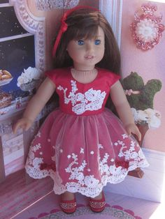 18 doll clothes such as American Girl doll other similar