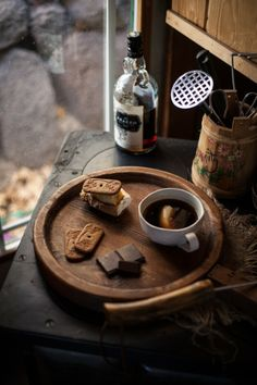 coffee + smores (or any #chocolate goodness) = heaven
