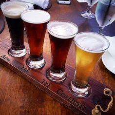 A Delicious flight of Irish Beers at Raglan Road, Downtown Disney