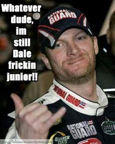 Officially licensed apparel for Dale Earnhardt Jr. Nascar Quotes, Nascar Memes, Dale Earnhart Jr, Amy Earnhardt, Ryan Blaney, Chase Elliott, Fastest Man, Daytona 500, Nascar Racing