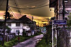Main Street. New Amsterdam, Guyana, South America