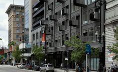 Avenue Building, Winnipeg by 5468796 Architecture. Love the balconies.