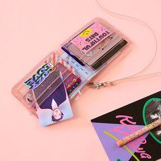 Online Shop Bentoy PVC Transparent Short Neck Wallet For Girl Milkjoy Laser Holographic Coin Purse Women Clear Glittering Letter Card Holder My Wallet, Small Wallet, Long Wallet, Card Wallet, Clutch Wallet, Leather Wallet, Wallets For Girls, Cute Wallets, Exo