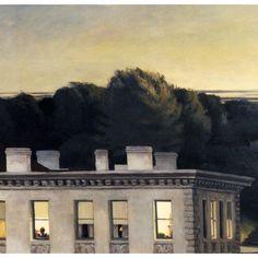 Edward Hopper. Does anyone do elegiac like Hopper? Sigh and feel the loss.