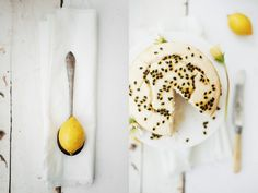 Athena Plichta Photography | journal | lemon cake with passionfruit syrup