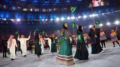Four women and nine men are representing Saudi Arabia at the 2016 Rio Olympics. (Photograph: Reuters/Kai Pfaffenbach)