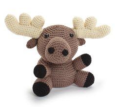 Ravelry: Maple the Moose/ Erik, der Elch pattern by Stacey Trock