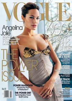 Angelina Jolie Pitt - Vogue - March 2004: The Power Issue