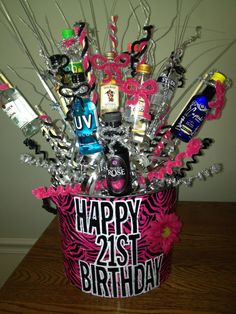 7aea3c55de678d1402f85298120b219b 1200x1600 Pixels 21st Birthday Presents Gift Baskets Diy
