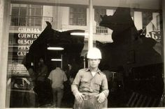 Federico Fernández. Sin título. 1976. Mérida -Serie, La identificación de un pueblo-. Plata en gelatina. 22,8 x 33,8 cm