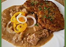Podle Magdaleny Dobromily - Vepřové na pivě Tandoori Chicken, Stew, Pork, Meat, Ethnic Recipes, Pork Roulade, One Pot, Pigs, Pork Chops