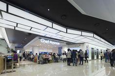 Hyundai Department Store, acrylic lighting diffused ceiling