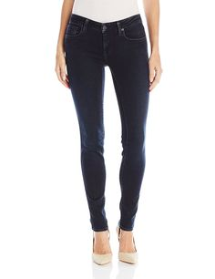 Genetic Los Angeles Women's Shya Midrise Skinny Jean In Midnight Run *** Read more  at the image link.