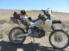 Giant Loop Rider: Revolution Motorsports' Moscow, ID to Nevada Adventure on Suzuki DRZ400 with Coyote Saddlebag, Coyote Dry Bag, Buckin' Roll Tank Bag