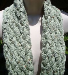 Check out this item in my Etsy shop https://www.etsy.com/listing/192230825/scarves-for-women-cabled-light-speckled