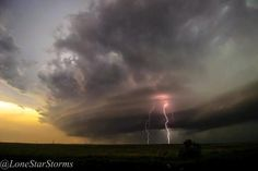Supercelda. Burkburnett, Texas. Foto por Wade Robberson.