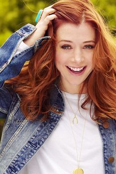 Alyson Hannigan, Lily (How I Met Your Mother), born 3/24/1974