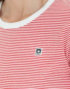 OBEY Clothing Mitchell striped t-shirt