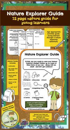 Free Nature Explorer Guide Printable Pack