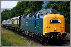 Deltic 55 Diesel locomotive.