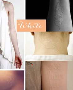 White tattoos
