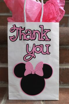 Minnie Mouse Treat Bag by Kelly Krocker Kreates on Etsy