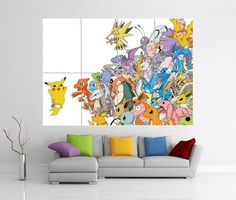 Pokemon Pikachu Giant Wall Art Picture Poster by A1PosterArt, £13.99