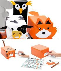 Image result for DIY cute animal gift wrap