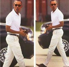 Barack Obama Was Spotted Out & About February 2017 Looking Like GQ Retirement Looks Great On You Mr President
