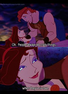 Hercules and Meg -  aaaaaaagh and then she dies :( :( :( :(
