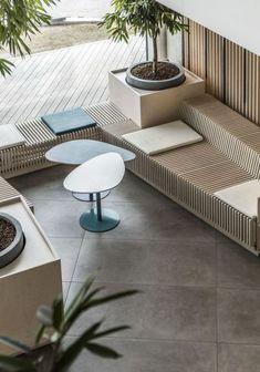 home design kitchen Design Entrée, Design Loft, Lobby Design, Cafe Design, Lounge Design, Design Concepts, Design Ideas, Cafe Interior, Office Interior Design