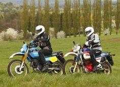 Honda XL 600 LM und Yamaha XT 600 Ténéré