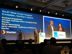 Stantec's South West Acute Hospital (Enniskillen, Northern Ireland) projecy wins top honors.
