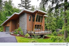 Modern Mountain Home For The Home Modern Lake House