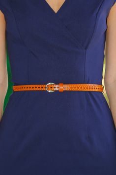 Waist Of Space Belt-Cognac - All Accessories   The Red Dress Boutique