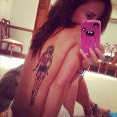 Zombie Barbie tat for brandee? Zombie Barbie, Zombie Tattoos, Zombies, Watercolor Tattoo, Tatting, Babe, Ink, Feelings, Bobbin Lace